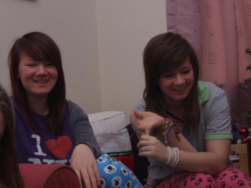 Beth and Rhianna